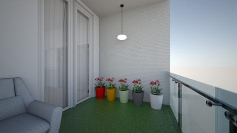 Bedroom balcony 2 - by saratevdoska