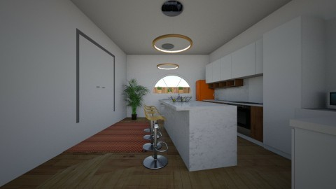 floor plan proper - Eclectic - Kitchen - by sorchacullxn
