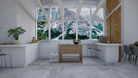 Glacial - Modern - Kitchen - by millerfam