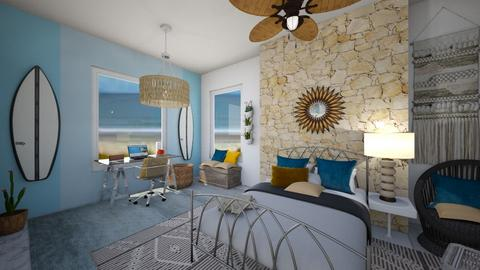 beach room - Bedroom  - by roomybabes009
