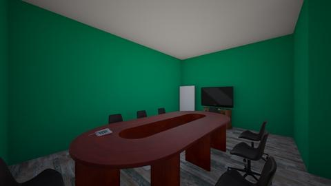 Work Conference Room - by Cat_Maniac_4_life
