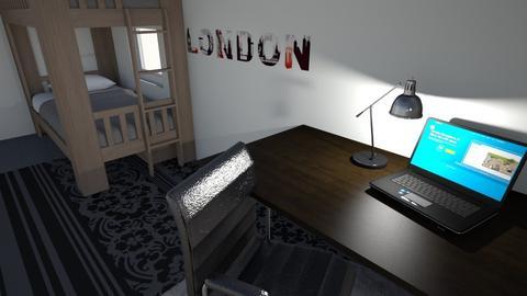 Bedroom of uzamanki - Bedroom  - by DaRoomPig