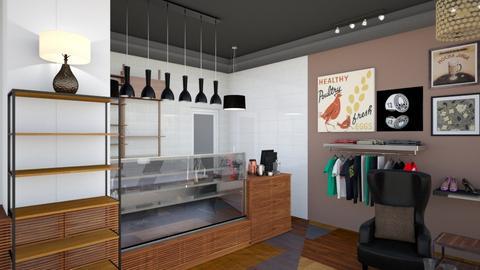 Gallery Cafe Bar View 3 - Modern - by Ejad Shukri