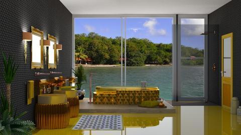 island bath - Glamour - Bathroom  - by nat mi