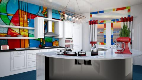 playful kitchen  - Modern - Kitchen  - by zayneb_17