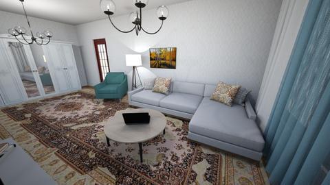 Nicoleta - Living room  - by lletale