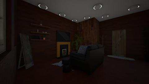 Cozy Cabin - Modern - Living room - by udanielle12