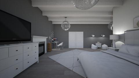 Dorles Zimmer - Bedroom  - by julieinnenarchitektin