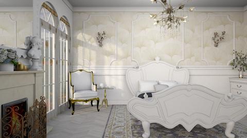 Art Nouveau Bedroom - Bedroom  - by diegobbf