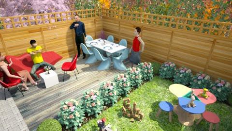 Family_Friendly_ - Modern - Garden  - by anjuska9
