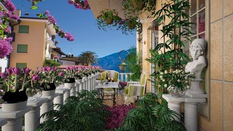 Lago Di Garda - Garden  - by lydiaenderlebell
