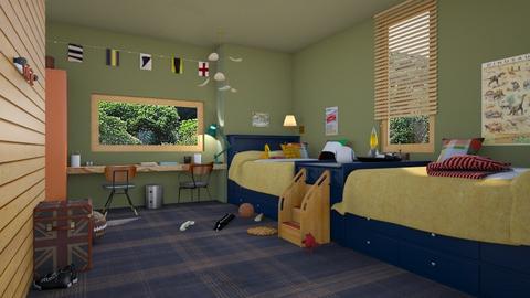 shared - Kids room  - by marinmarin
