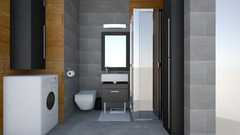 Lazienka 21 - Bathroom  - by KasiaBogu