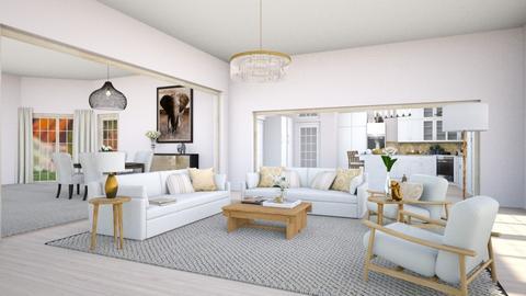 Kullavik - Living room  - by lpkinteriordesigns