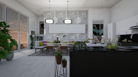 Family Dining - Modern - Kitchen  - by janip