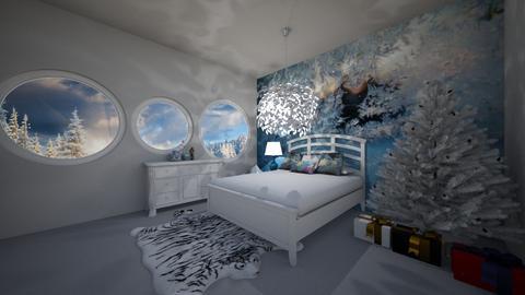 winter bedroom - Bedroom - by Unicornlover1