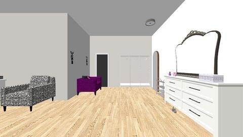 Dorm room  - Bedroom - by ashantij