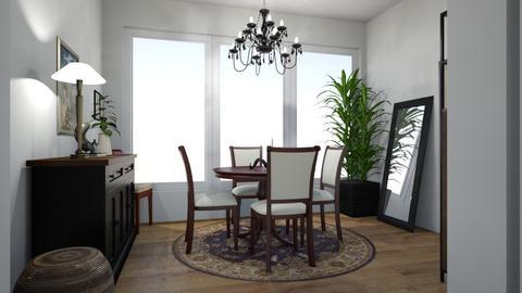 hartley 1 - Dining room  - by schehrdesign