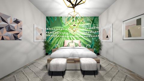 Palm Leaves - Bedroom - by bryangra000