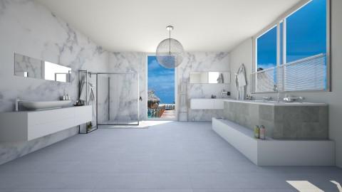 marble - Modern - Bathroom  - by ercy_1