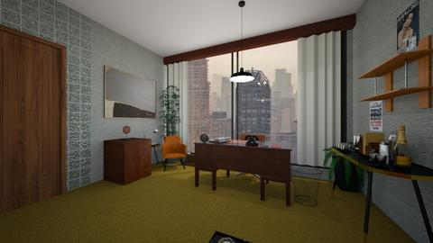 Mad Men Style Office - Modern - Office  - by zazhome