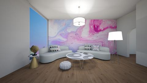 Blurry Living - Modern - Living room  - by TortillaChip