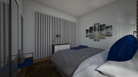 Alvis Bedroom Opt 3 - Modern - Bedroom  - by Redesigned Finds