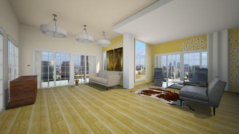 open plan - Living room - by annanananana