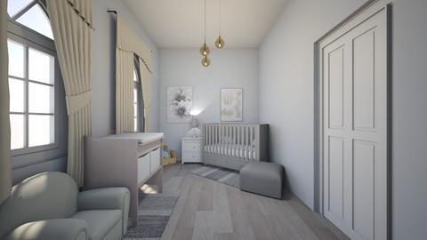 Modern Baby Bedroom - Modern - Kids room - by Chicken202