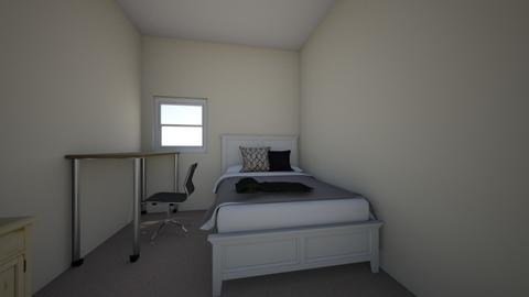 apartment - Bedroom - by courtneydellarocca