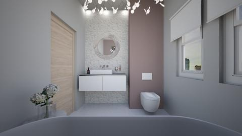 baie modern eleganta - Bathroom  - by Anabuzea11