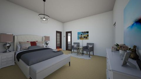 SJbedroo2 - Modern - Bedroom  - by Stephanie Felix