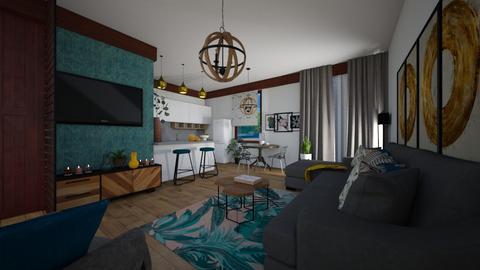 hdgjs - Modern - Living room  - by lamzoi