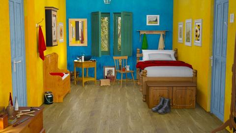 M_ Van Gogh bedroom - Bedroom  - by milyca8