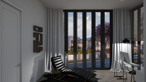 DeanB_1N - Modern - Bedroom  - by Genevive_C907