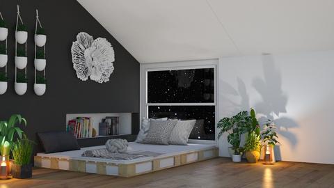 Loft Room - Bedroom  - by KittyKat28