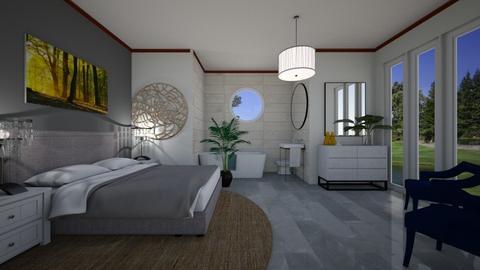 bedroom - by zandile