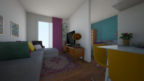 ap 1 dorm - Minimal - Living room - by lih_lih