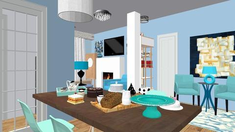 Via cassiani 2 - Modern - Living room - by PROGETIM