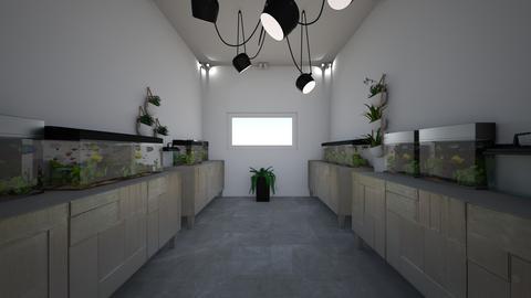 fish room - Modern - Garden  - by jade1111