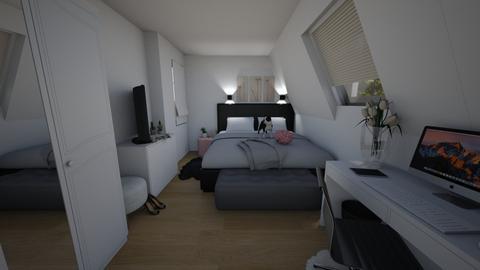 Teenager bedroom - Bedroom  - by noemieserlet