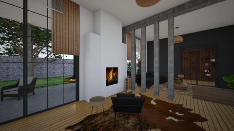 SoftLoft_Firepaces - Bedroom  - by lovasemoke