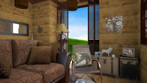 Farm 1 - Country - Living room  - by FranChi