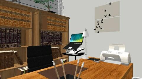 Escritorio - Eclectic - Office  - by mjalves
