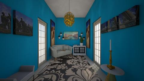 Turquoise Hallway - Glamour - by piano rocks