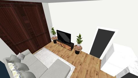 RUMPUS  - Living room  - by RachelWhitby