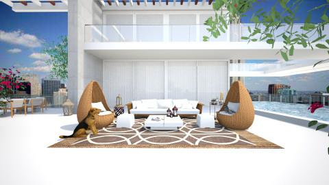 Camellia Roof - Modern - Garden  - by AlSudairy S