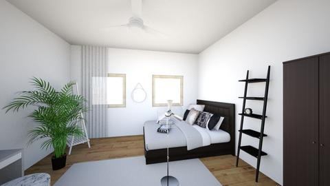 Minimalist bedroom - Minimal - Bedroom  - by mh111