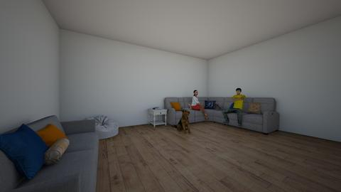 Living room - Modern - Living room - by roxyismybaby