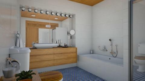 MCM Apt_Bath - Retro - Bathroom - by evahassing